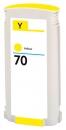 Alternativ HP Druckerpatrone 70 C9454A Gelb