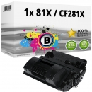 Alternativ HP Toner CF281X 81X Schwarz