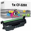 Alternativ HP Toner 653X CF320X Schwarz