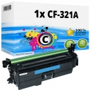 Alternativ HP Toner 653A CF321A Cyan