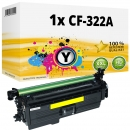 Alternativ HP Toner 653A CF322A Gelb