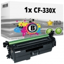 Alternativ HP Toner 654X CF330X Schwarz
