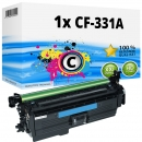 Alternativ HP Toner 654A CF331A Cyan
