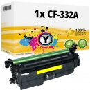 Alternativ HP Toner 654A CF332A Gelb