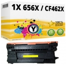 Alternativ HP Toner 656X / CF462X Gelb