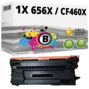Alternativ HP Toner 656X / CF460X Schwarz