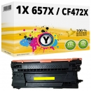 Alternativ HP Toner 657X / CF472X Gelb