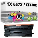 Alternativ HP Toner 657X / CF470X Schwarz
