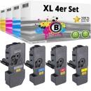 Set 4x Alternativ Kyocera Toner TK-5220 Mehrfarbig