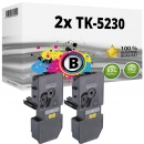 2x Alternativ Kyocera Toner TK-5230BK Schwarz