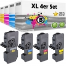 Set 4x Alternativ Kyocera Toner TK-5240 Mehrfarbig
