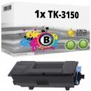 Alternativ Kyocera Toner 1T02NX0NL0 TK-3150 Schwarz