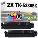 2x Alternativ Kyocera Toner TK-5280K 1T02TW0NL0 Schwarz