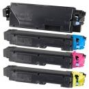 Alternativ Kyocera Set 4x Toner TK-5140 Mehrfarbig