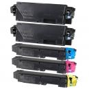 Alternativ Kyocera Set 5x Toner TK-5140 Mehrfarbig