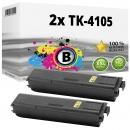 Alternativ Kyocera Set 2x Toner TK-4105 1T02NG0NL0 Schwarz