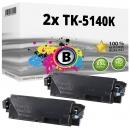 Alternativ Kyocera Set 2x Toner TK-5140K 1T02NR0NL0 Schwarz