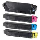 Alternativ Kyocera Set 4x Toner TK-5150 Mehrfarbig