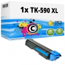 Alternativ Kyocera Toner TK-590C XL Cyan