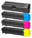 Alternativ Kyocera Set 4x Toner TK-8705 Mehrfarbig
