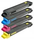 Alternativ Kyocera Set 4x Toner TK-895 Mehrfarbig