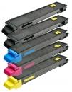 Alternativ Kyocera Set 5x Toner TK-895 Mehrfarbig