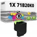 Alternativ Lexmark Toner 71B20K0 Schwarz