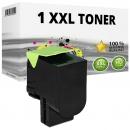 Alternativ Lexmark Toner 800S1 80C0S10 Schwarz XL