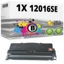 Alternativ Lexmark Toner 12016SE Schwarz