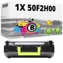 Alternativ Lexmark Toner 502H 50F2H00 Schwarz