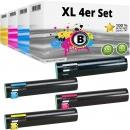 Set 4x Alternativ Lexmark Toner X945 Mehrfarbig