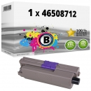 Alternativ OKI Toner C332 / MC 363 46508712 Schwarz