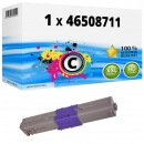 Alternativ OKI Toner C332 / MC 363 46508711 Cyan
