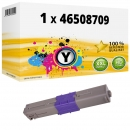 Alternativ OKI Toner C332 / MC 363 46508709 Gelb
