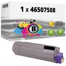 Alternativ OKI Toner 46507508 Schwarz