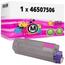 Alternativ OKI Toner 46507506 Magenta