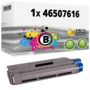 Alternativ OKI Toner 46507616 Schwarz