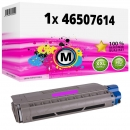 Alternativ OKI Toner 46507614 Magenta