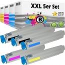 Set 5x Alternativ OKI Toner 44036024 44036023 44036022 44036021