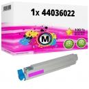 Alternativ OKI Toner 44036022 Magenta