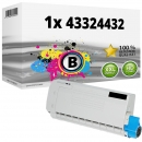 Alternativ OKI Toner 43324432 Schwarz