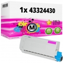 Alternativ OKI Toner 43324430 Magenta