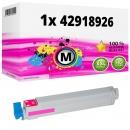 Alternativ OKI Toner 42918926 Magenta