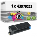 Alternativ OKI Toner 43979223 Schwarz
