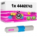 Alternativ OKI Toner 44469741 Magenta