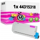 Alternativ OKI Toner 44315318 Magenta
