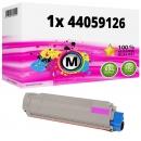 Alternativ OKI Toner 44059126 Magenta
