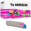 Alternativ OKI Toner 44059230 Magenta