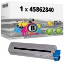 Alternativ OKI Toner 45862840 Schwarz