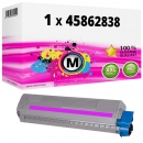 Alternativ OKI Toner 45862838 Magenta